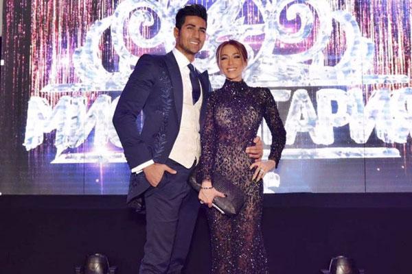 أنجي قصابية تنتخب ملكة جمال بلغاريا