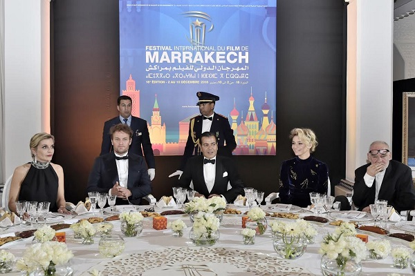 الأمير مولاي رشيد يترأس حفل عشاء سينمائي بمراكش