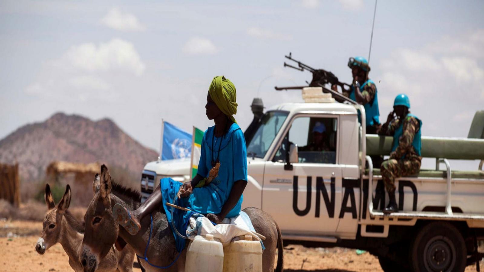 قوات يوناميد تستعد للانسحاب من السودان