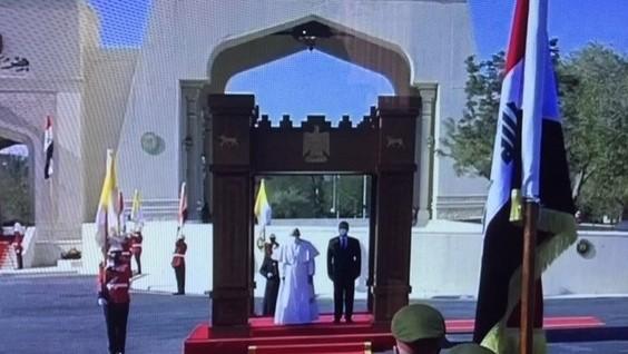 الرئيس العراقي مستقبلا في القصر الرئاسي الجمعة بابا الفاتيكان