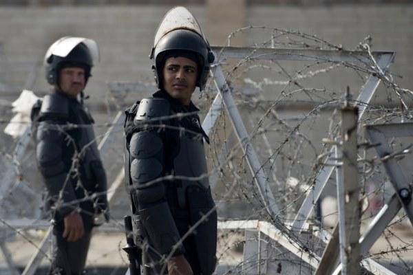 عناصر من الجيش المصري في القاهرة