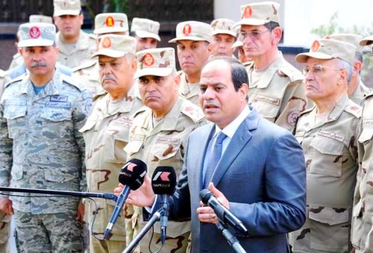 السيسي مخاطبا كبار قادة الجيش المصري