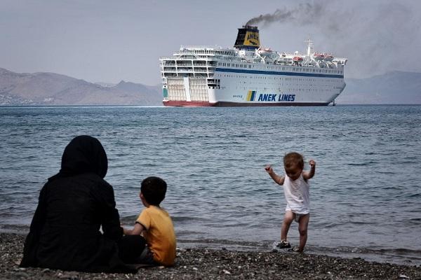 مهاجرون سوريون الى اوروبا عبر كوس