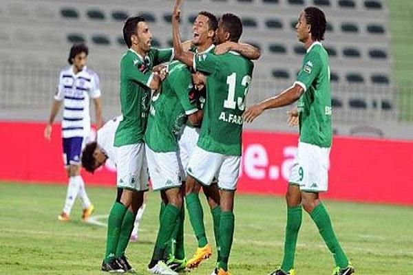 الشباب يلحق بالوحدة إلى صدارة الدوري الإماراتي