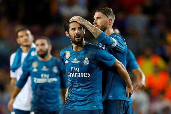 ريال مدريد يهزم برشلونة بثلاثية في ذهاب كأس السوبر الإسباني