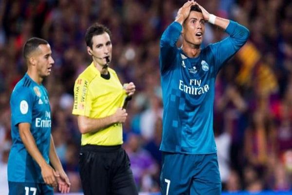لجنة الاستئناف ترفض طعن ريال مدريد بشأن طرد رونالدو