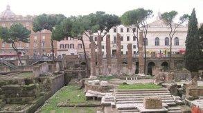 موقع اغتيال يوليوس قيصر في روما يتاح للجمهور سنة 2022