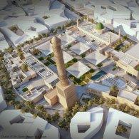 اليونسكو تعلن عن التصميم الفائز لاعادة بناء جامع النوري في الموصل