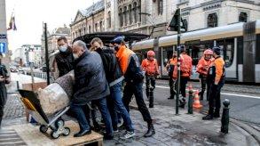 ايطاليا استردت تمثالاً رومانياً مسروقاُ رصده شرطيان خلال وجودهما في بروكسل