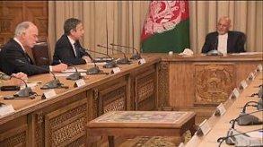 بلينكن في أفغانستان لمناقشة الانسحاب العسكري الأميركي
