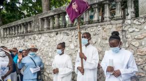 توقف النشاطات الاقتصادية والتعليمية دعما لرجال الدين المختطفين في هايتي