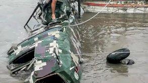 مصرع خمسة جنود اثر تحطم مروحية في البيرو