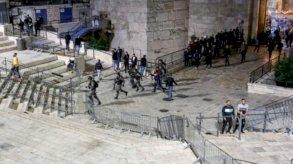 القدس: مواجهات بين فلسطينيين والشرطة الإسرائيلية