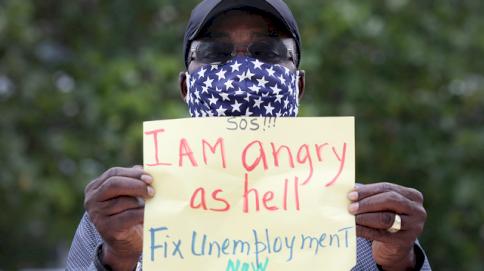 ساهمت الجائحة في تفشي البطالة بين الأميركيين