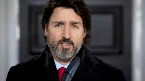 رئيس الوزراء الكندي جاستن ترودو في أوتاوا في 18 كانون الأول/ديسمبر 2020